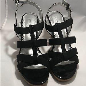Cloud walker women's evening dress sandals heel
